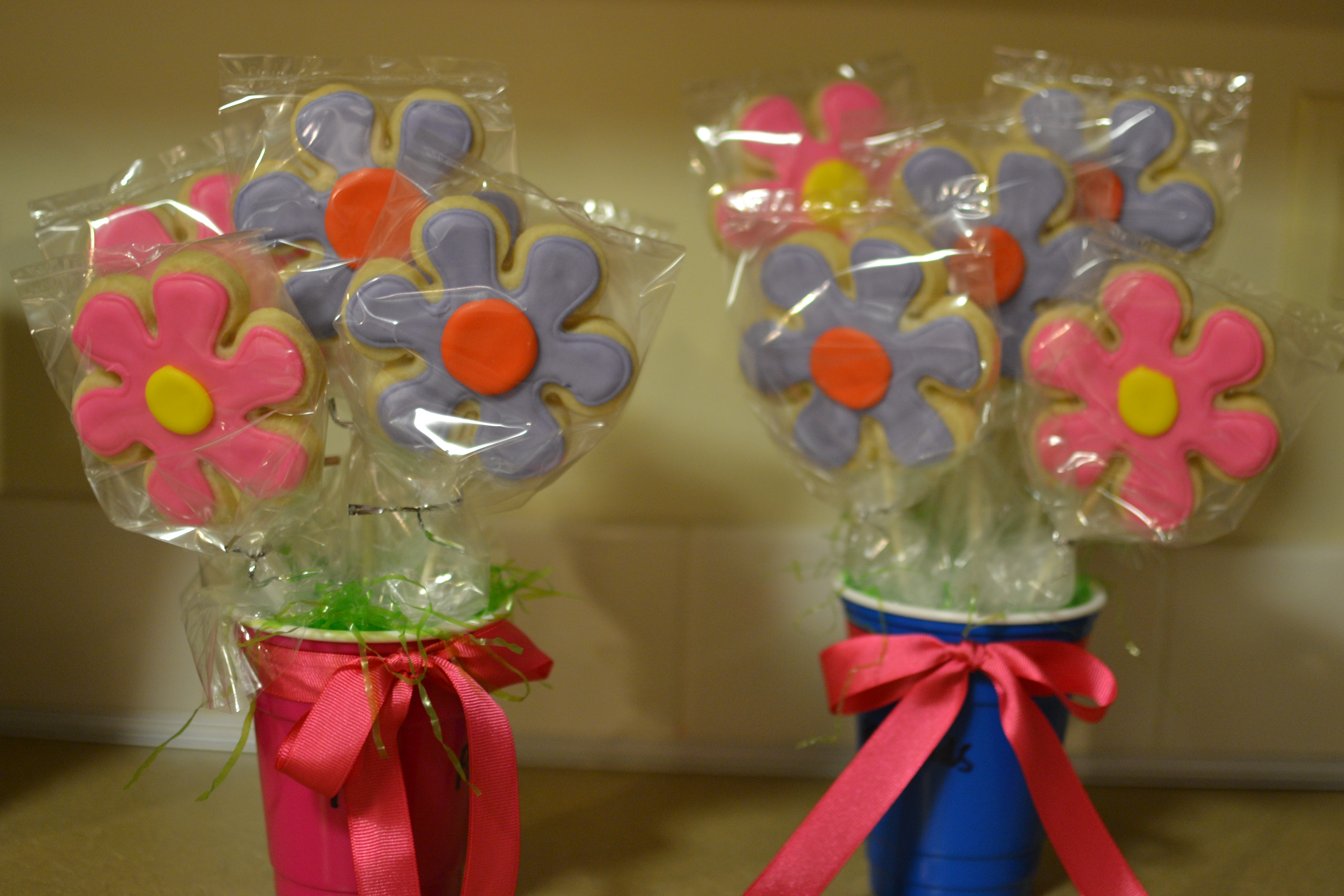How to make a cookie bouquet | She Bakes and Creates